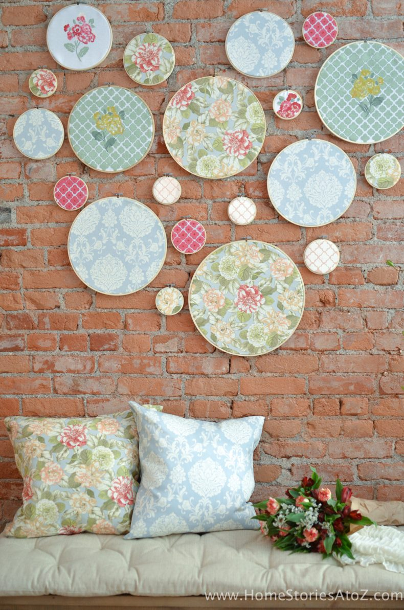 DIY Embroidery Hoop Wall Art Home Stories A To Z