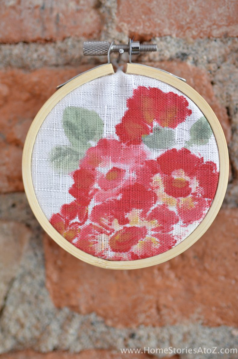 embroidery hoop wall art-6