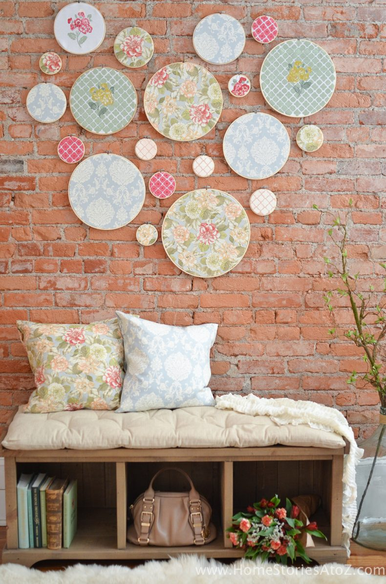 embroidery hoop wall art-9