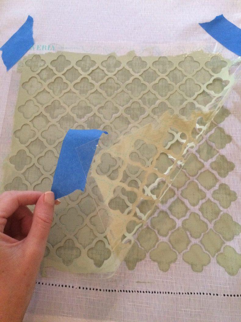 fabric stencil