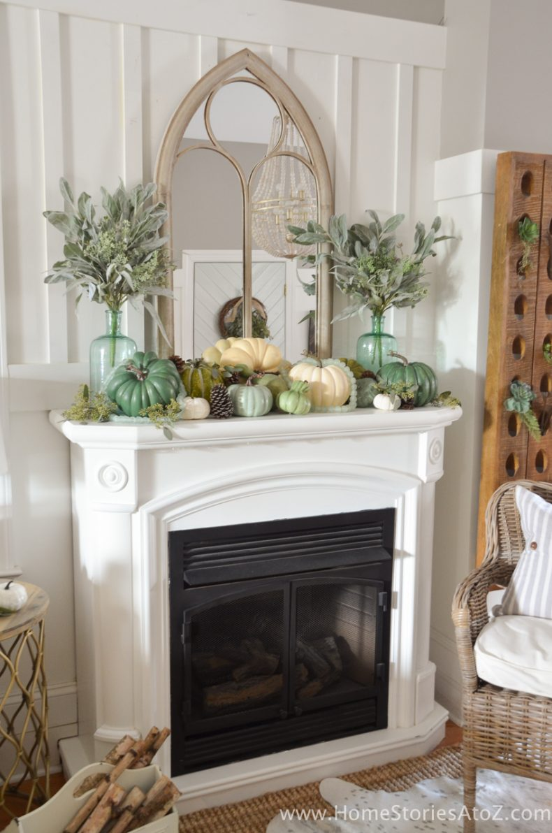 decor fall diy mantle fireplace autumn mantel awesome designs tour decorations homestoriesatoz decorating gorgeous