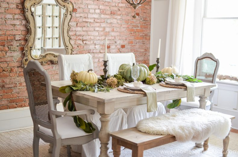 diy home decor fall dining room decorating ideas - Fall Home Decor
