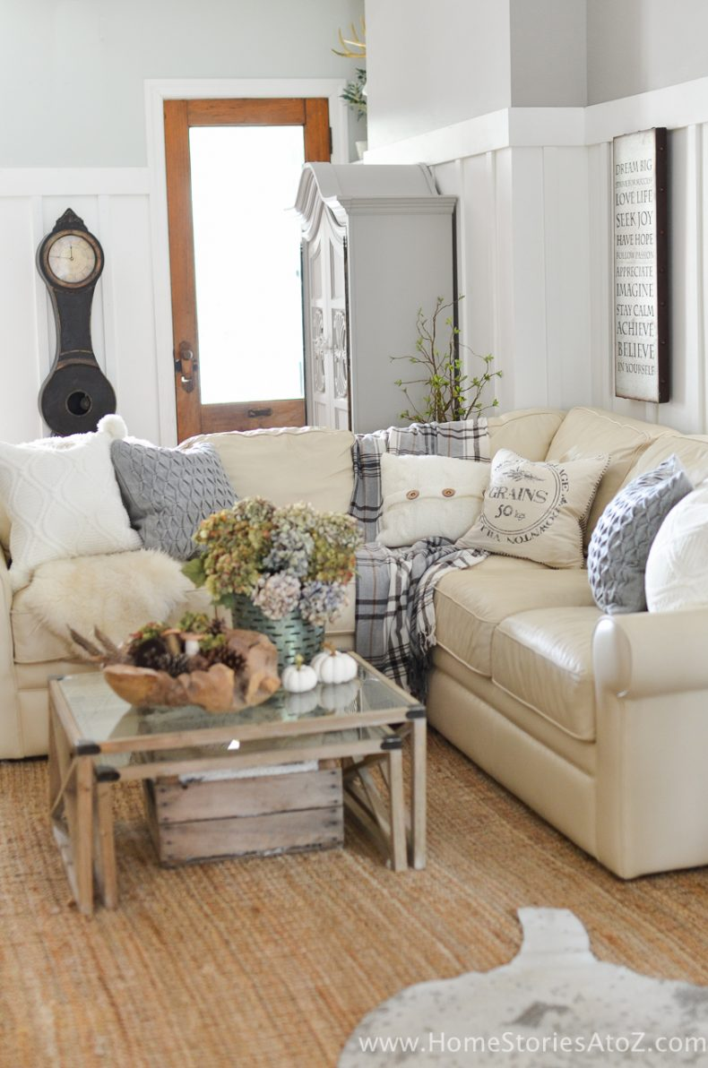 homemade living room decorations diy home decor fall home tour 14059