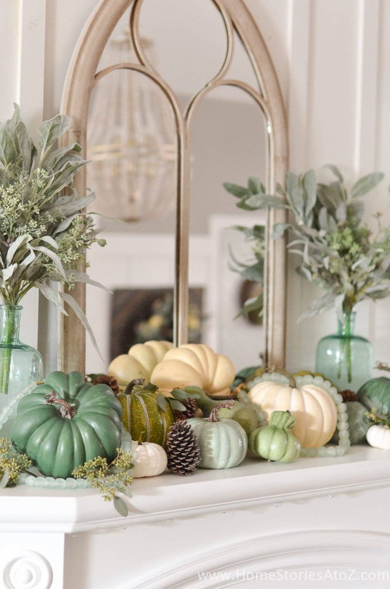 fall decor diy decorations decorating autumn mantel elegant halloween pumpkins tour decorate inspiring decoration colors nursing room homestoriesatoz easy accessories