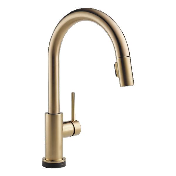 Delta Trinsic Touch faucet bronze