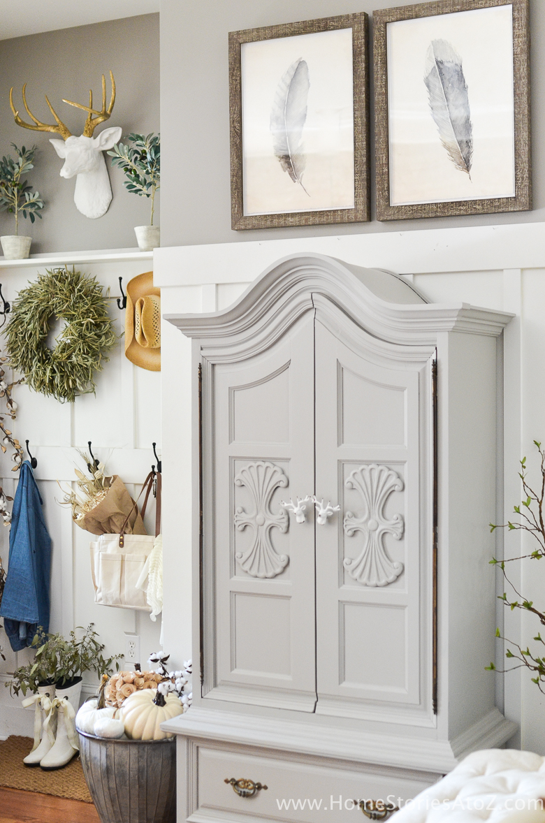 5 tips on how to create a beautiful fall entryway home - How to decorate my home ...