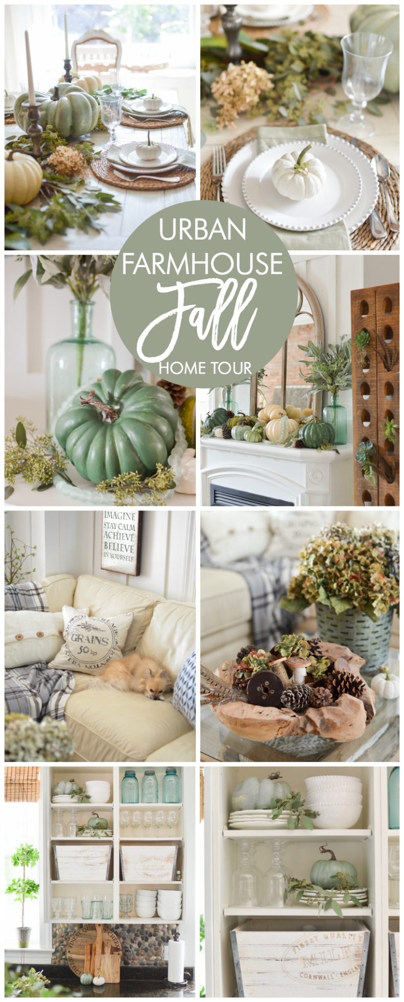 5 tips on how to create a beautiful fall entryway home Urban home decor