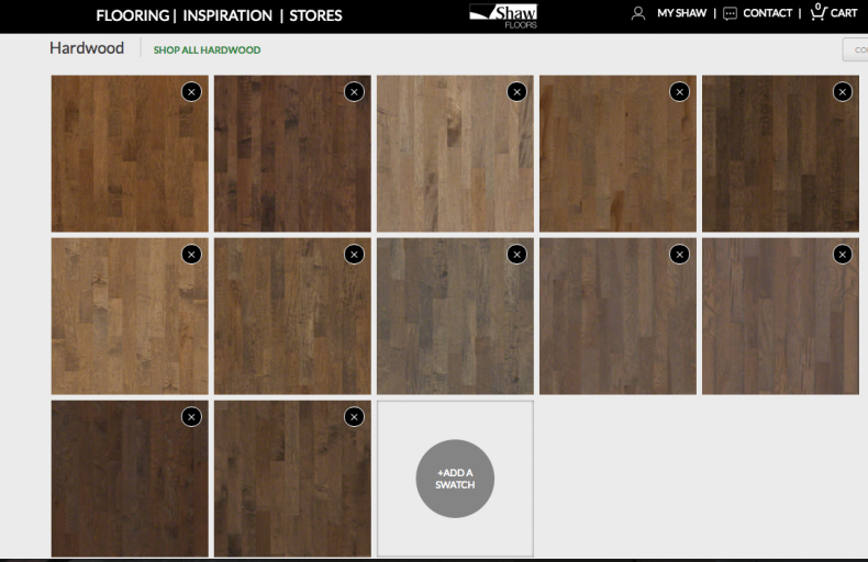 flooring samples shaw floors