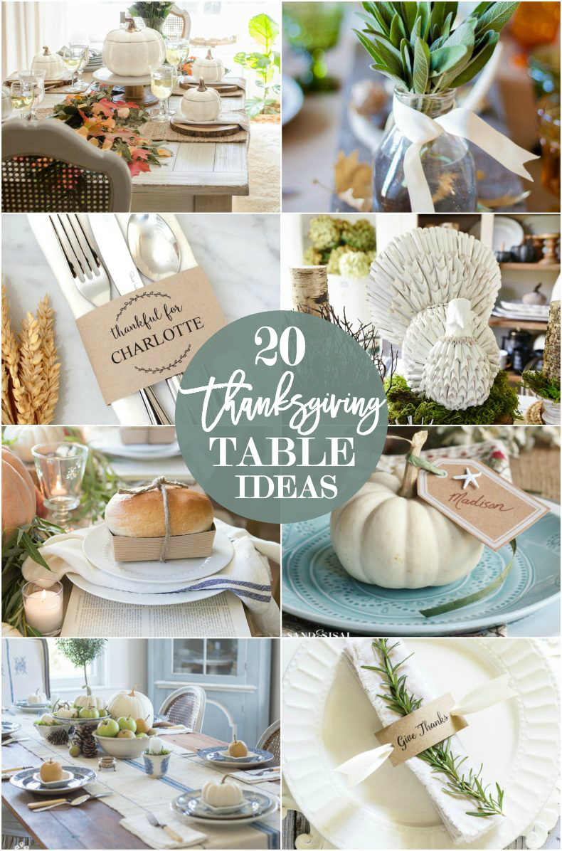 20 Thanksgiving Table Setting Ideas Thanksgiving Tablescape Ideas