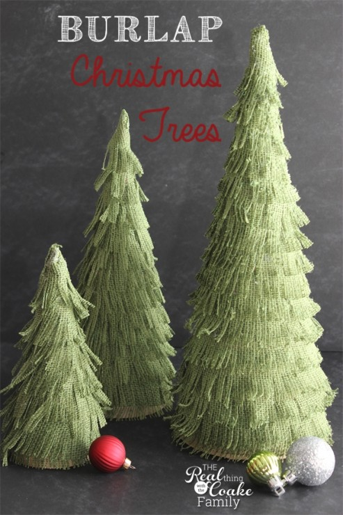 christmas craft idea mini trees