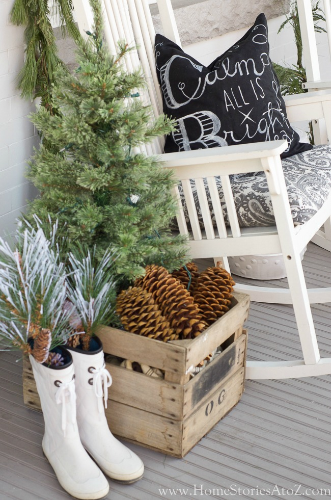 Repurposed Finds Christmas Porch By Home Stories A To Z
