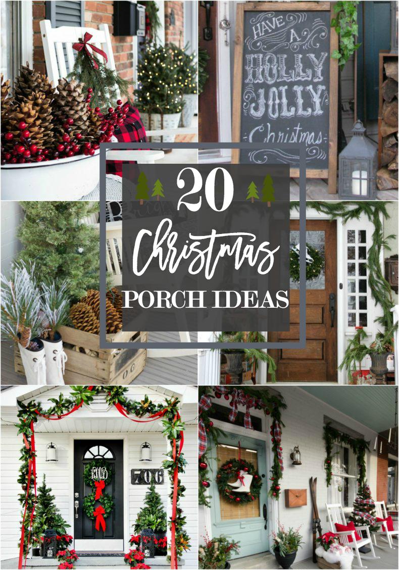 20 Beautiful Christmas Porch Ideas Diy Christmas Decorating