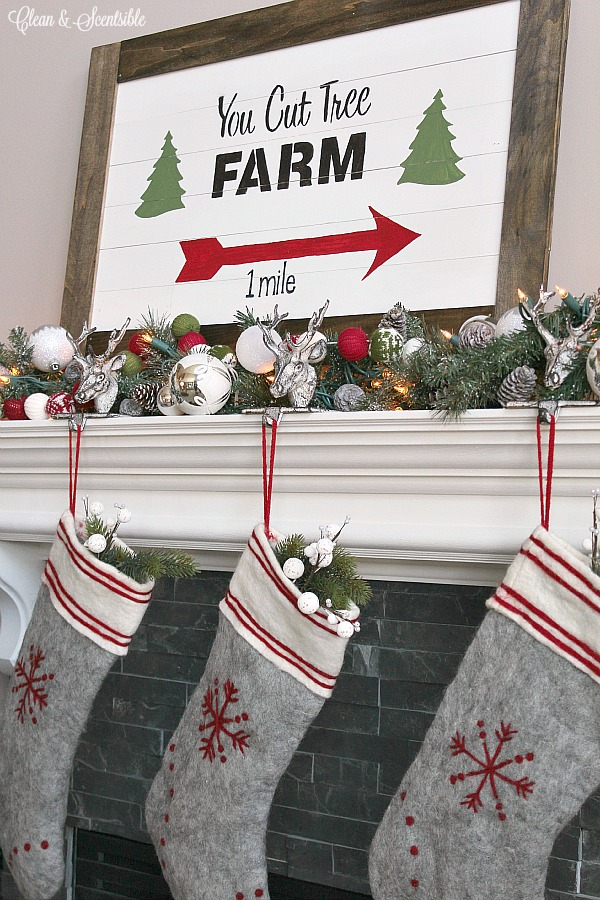 christmas craft christmas sign christmas tree farm
