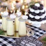 Holiday Entertaining for $25 or Less: Homemade Eggnog Recipe & Sweets Party