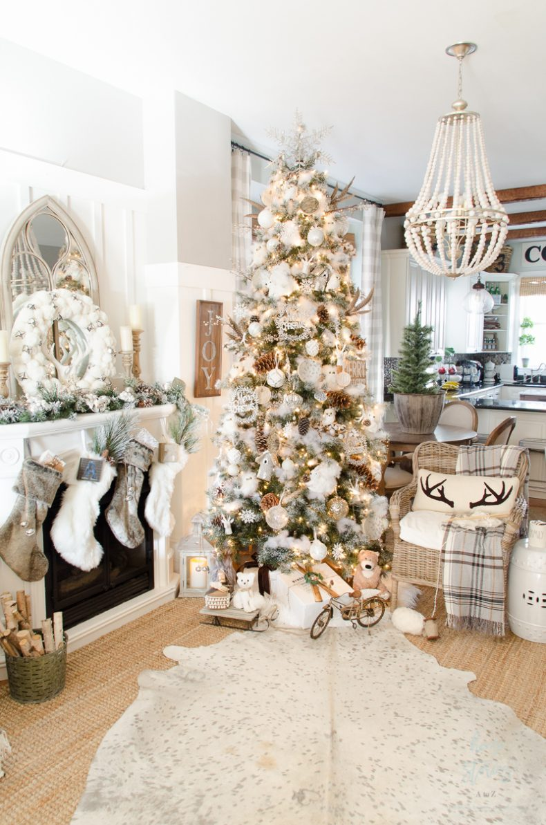 Dream Tree: 10 Tips on How to Decorate a Christmas Tree Rustic Glam ...