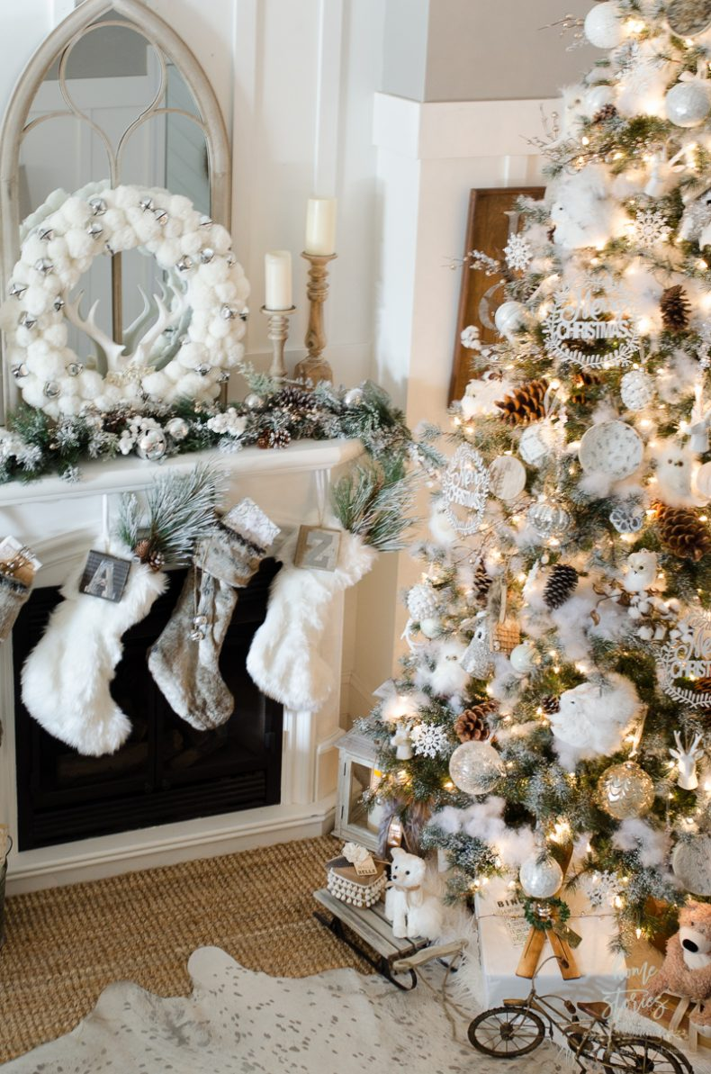 how-to-decorate-a-christmas-tree-rustic-glam-farmhouse