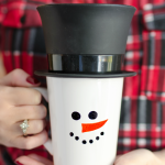 Sharpie Snowman Mug Gift Idea