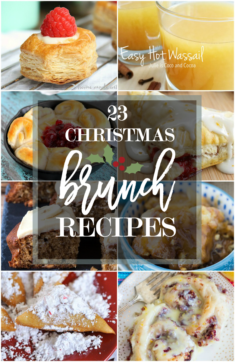 christmas brunch recipe ideas