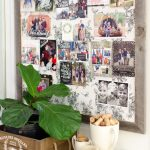 Custom Cards and Fabric Pinboard by Minted