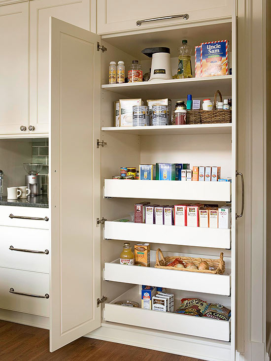 Cute Organized Pantry Tip Work with the space you have been given