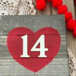 Valentine's Day Sign: Easy Valentine Craft