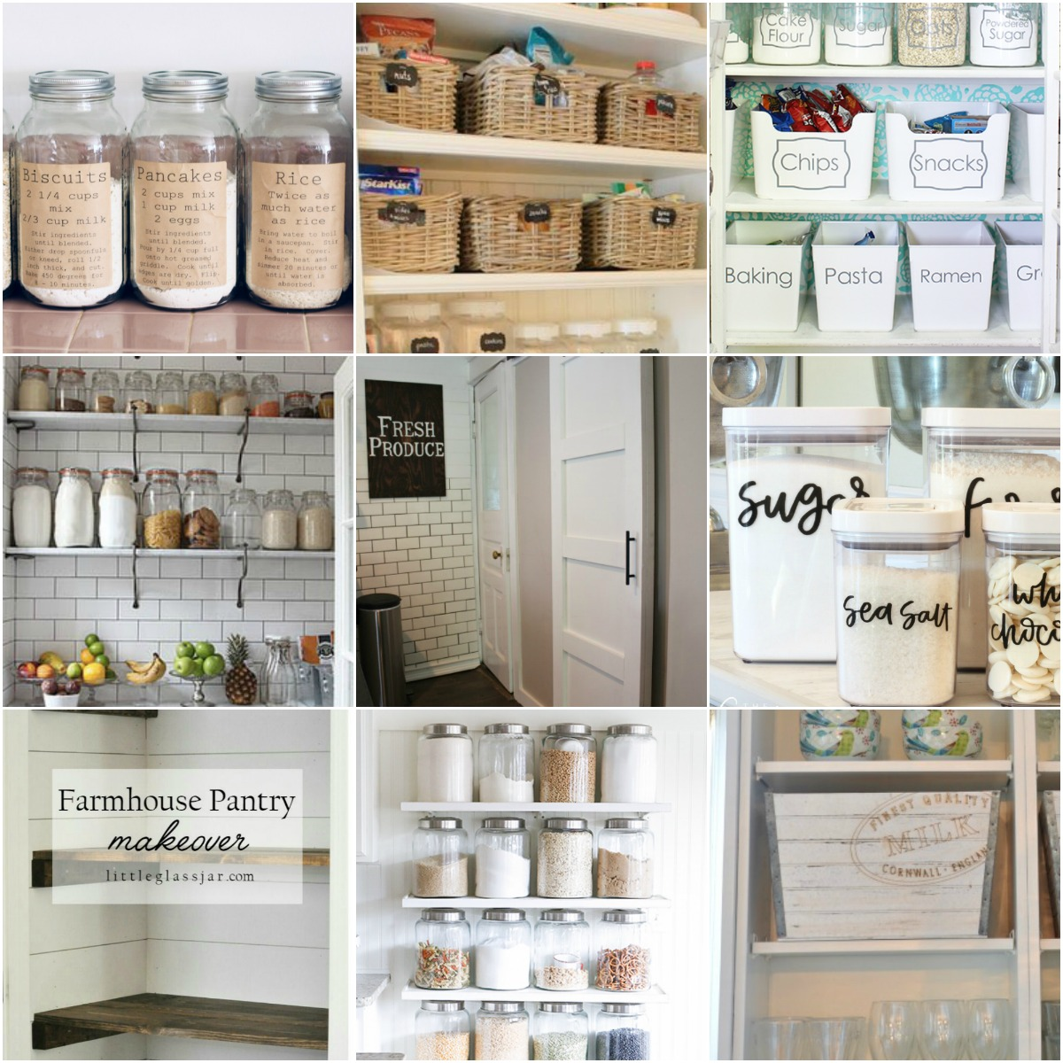 Organized Pantry And Pantry Tips: 5 Tips For A Gorgeous And Organized Pantry