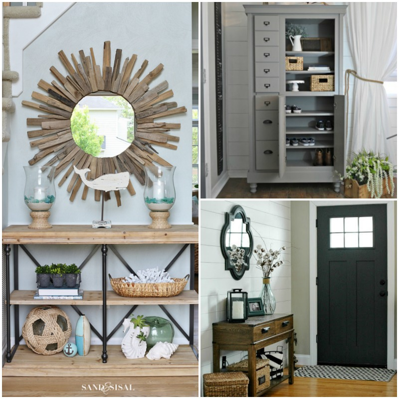 25+ Real-life Mudroom And Entryway Decorating Ideas By