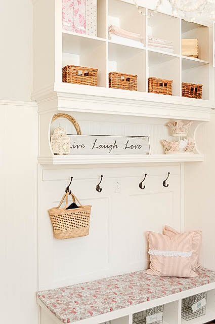 DIY-Mudroom-Wall-using-bookshelves-My-Uncommon-Slice-of-Suburbia