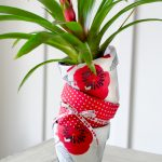 How to Mod Podge Flower Pots