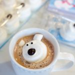 Polar Bear Marshmallow Hot Chocolate Valentine