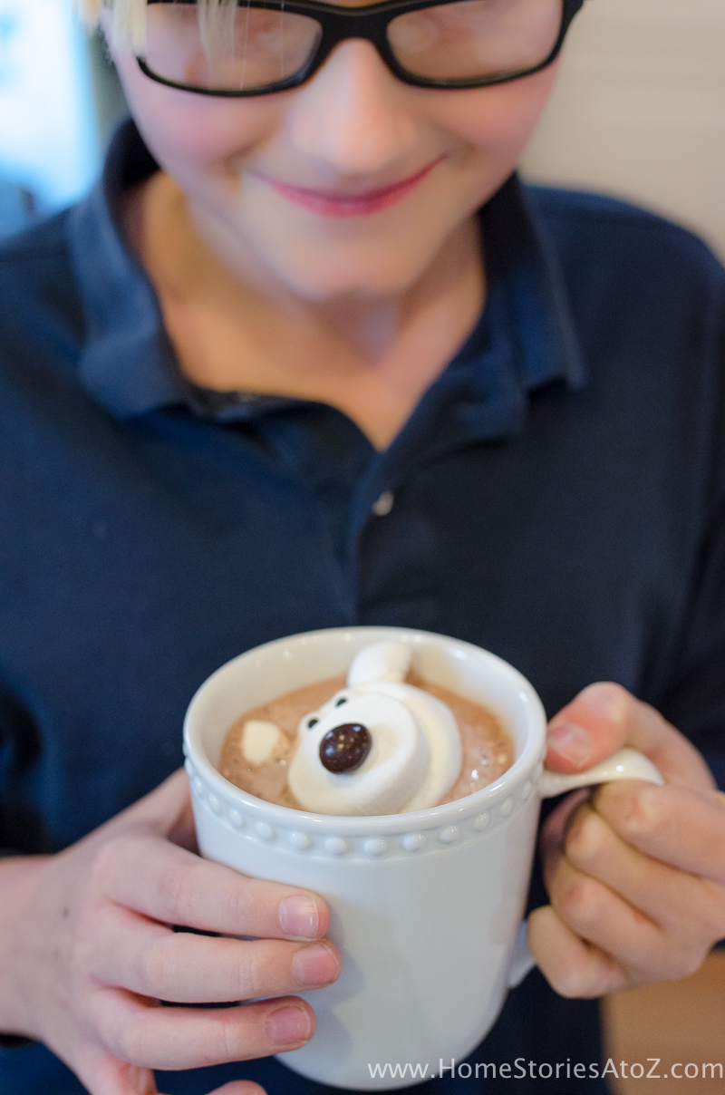 Polar bear marshmallows hot chocolate Valentine-13