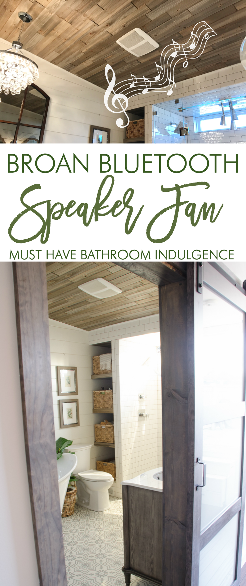 broan sensonic bath fan: must have bathroom indulgence