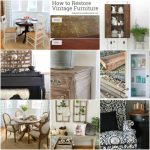 Best DIY of the Week {2}: Furniture Makeovers