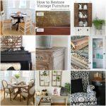 Best DIY of the Week {2}: Furniture Makeovers