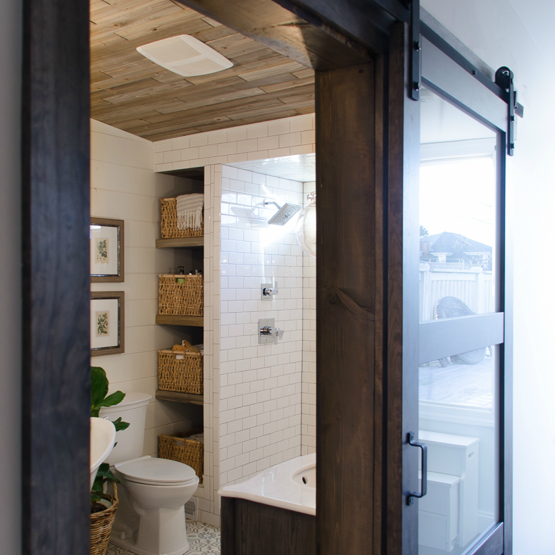 Affordable premade barn doors my decor home decor ideas for Affordable baths