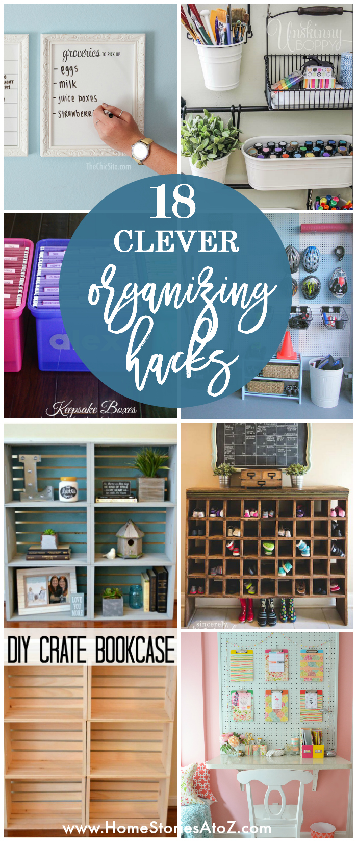 Picture of: 18 Clever Organizing Hacks