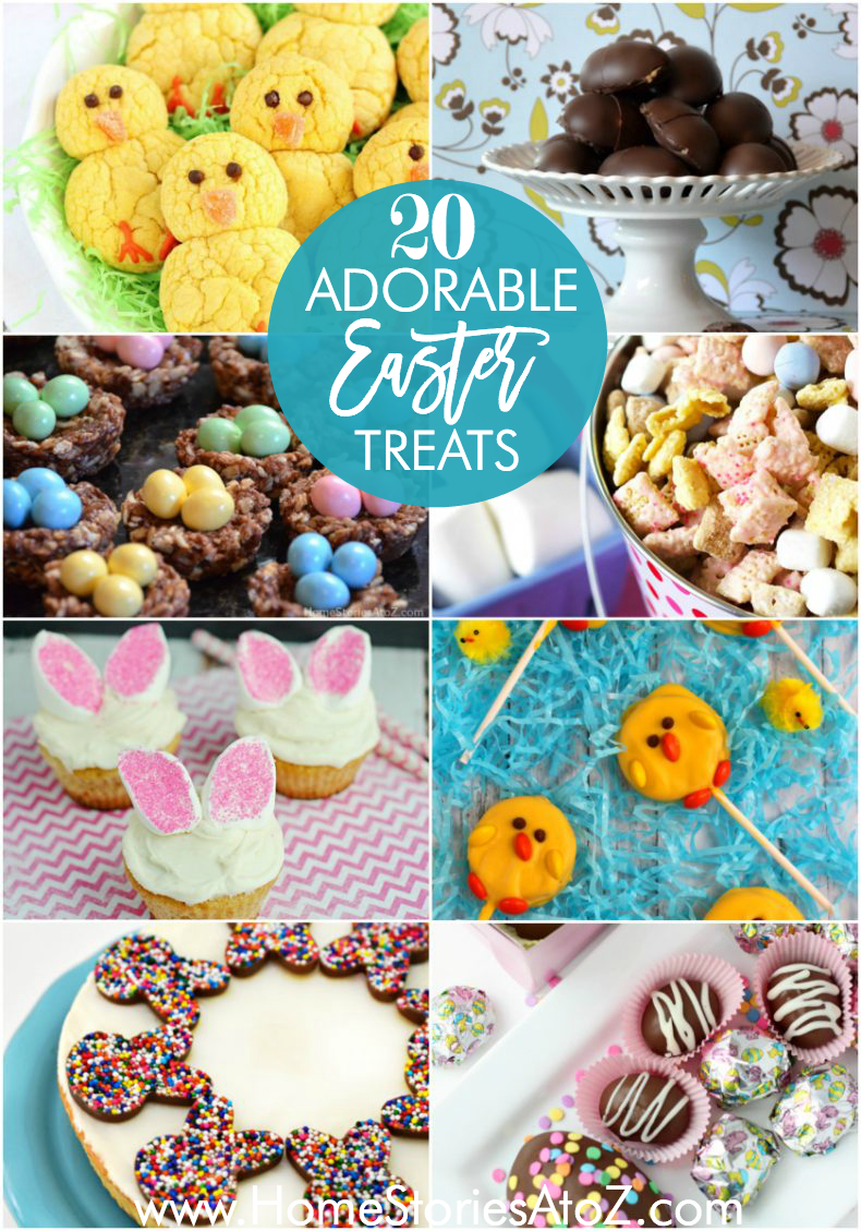 20 Adorable Easter Treat Recipes Easter Treats