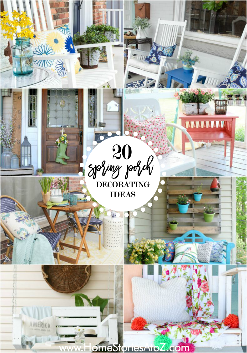 20 Beautiful Spring Porch Decorating Ideas