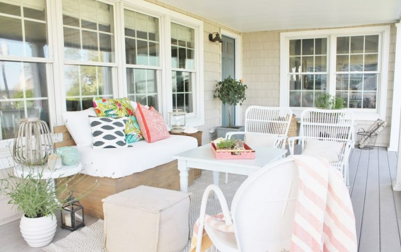 Cozy And Inviting Spring Porch By CITY FARMHOUSE