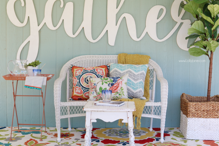 Lovely Gathering Place Spring Porch by LOLLY JANE