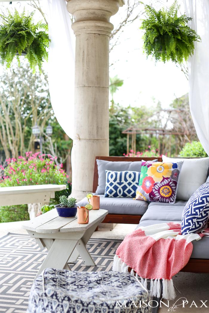 Breathtaking Backyard Patio By MAISON DE PAX