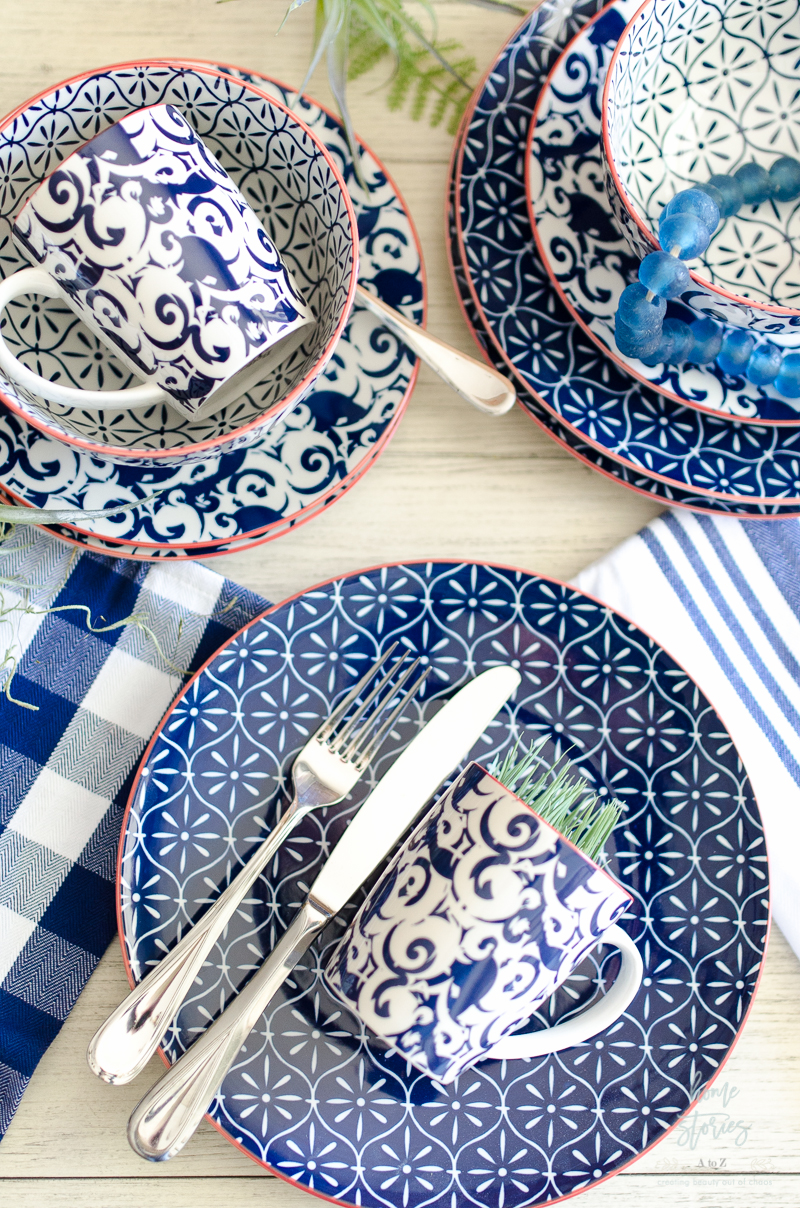 Modern Farmhouse Tablescape Tip 2 Keep it casual.  sc 1 st  Home Stories A to Z & 5 Tips for Creating an Affordable Modern Farmhouse Tablescape