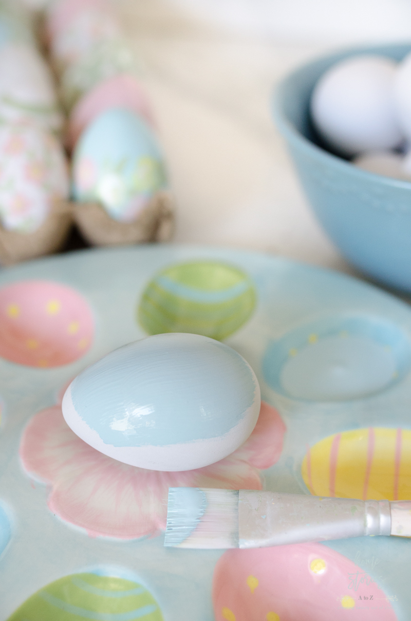 How to Paint Easter Eggs with Acrylics