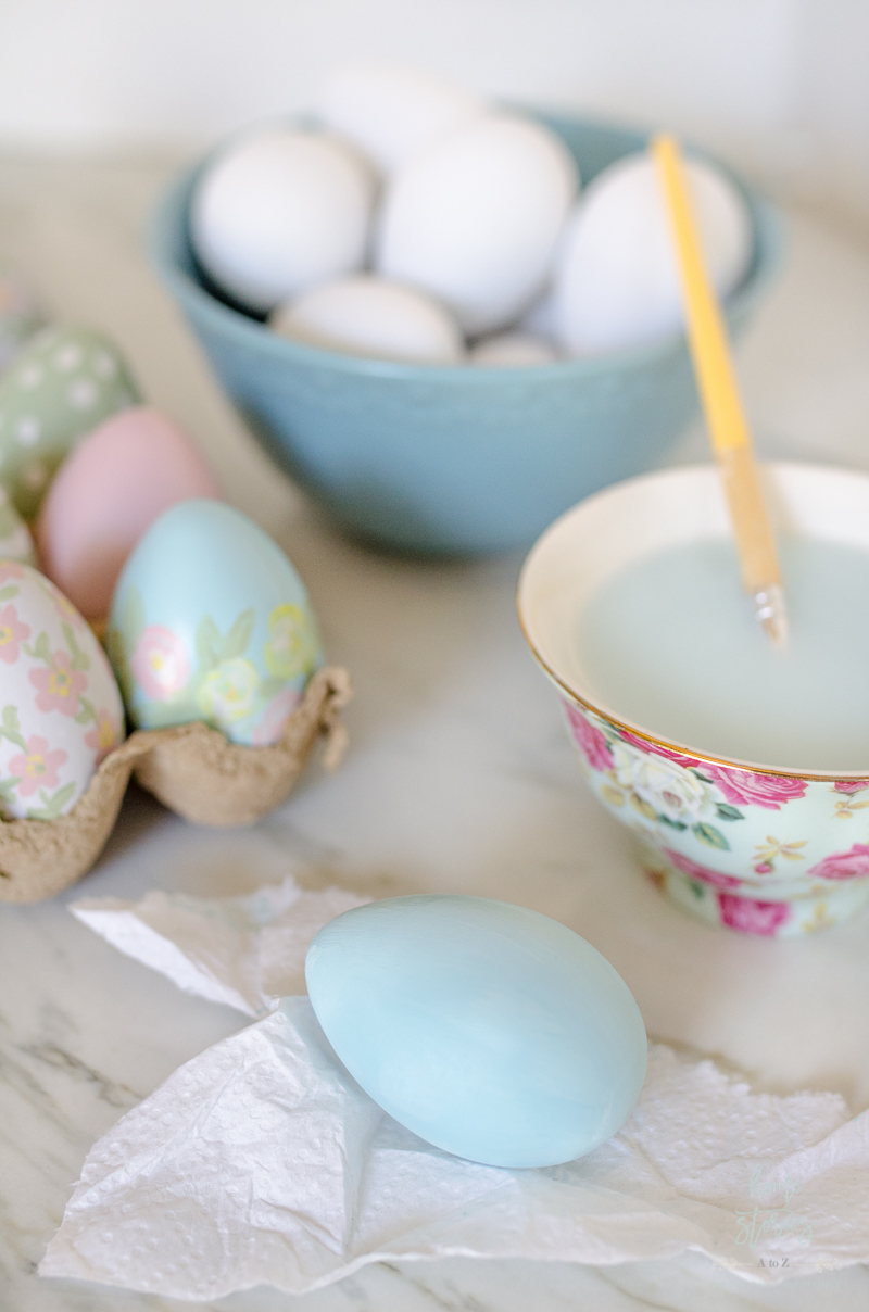 How to Paint Easter Eggs