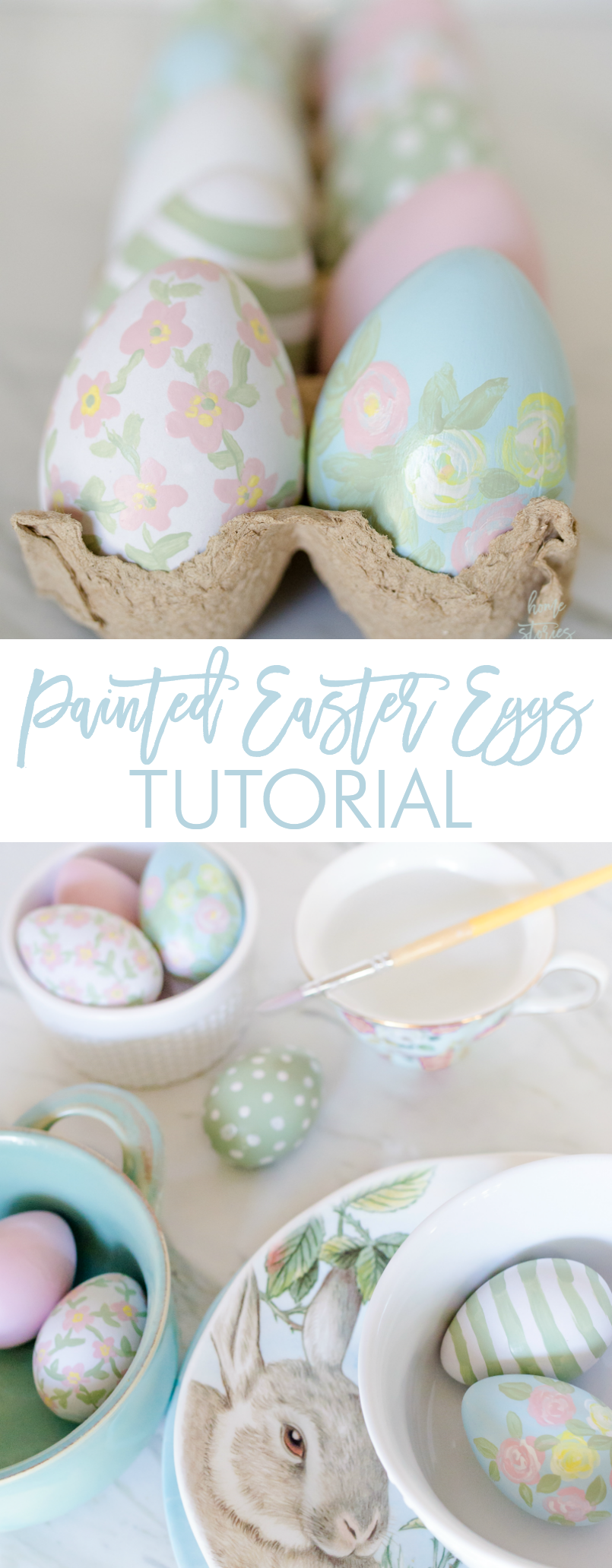 How to paint Easter eggs acrylic painted Easter egg tutorial #easteregg #eastercraft #eastertutorial #easter