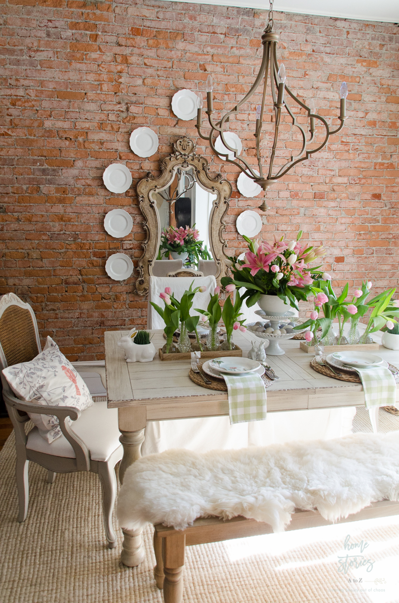 Spring Home Decor Ideas Part - 43: Spring Dining Room Spring Decorating Ideas Easter Table