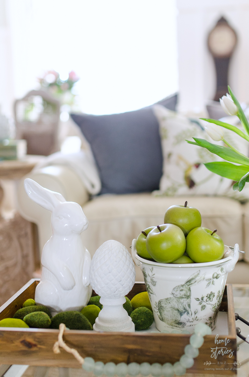 Spring Decorating Ideas Spring Home Tour Easter Vignette