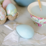 Beautiful and Simple Painted Easter Eggs