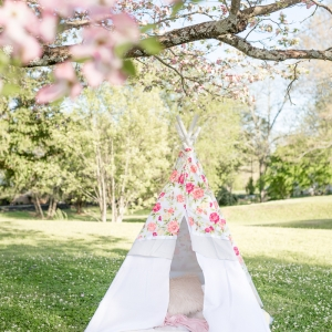 DIY no sew teepee how to make teepee no sew