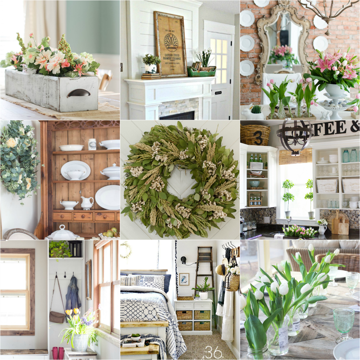 Home Decor: 18 Spring Decor Ideas